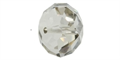Swarovski 5040 Rondelle 18mm Crystal Silver Shade 2 pack-rondelle 5040 18mm-Beadthemup