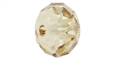 Swarovski 5041 18mm 3.5mm hole Crystal Gold Shade-beads-Beadthemup
