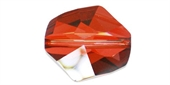 Swarovski 5323 Cosmic 12mm Red Magma 2 pack-beads-Beadthemup