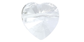 Swarovski 5742 Heart Crystal 14mm 2 pack-beads-Beadthemup