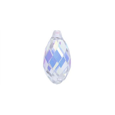 Swarovski 6010 Pendant 13mm Crystal AB 2 pack