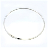 3mm 42cm Collar Silver Colour-jewellery-Beadthemup