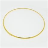 3mm 42cm Collar Gold Colour-jewellery-Beadthemup