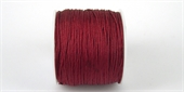 Poly Cord 1mm 50m roll Garnet-poly cord-Beadthemup