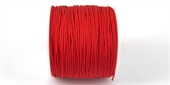 Poly Cord 1mm 50m roll Red-poly cord-Beadthemup