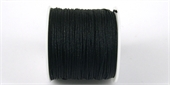 Poly Cord 1mm 50m roll Black-poly cord-Beadthemup