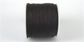 Poly Cord 1mm 50m roll Chocolate-poly cord-Beadthemup