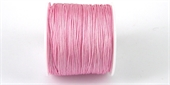 Poly Cord 1mm 50m roll Pink-poly cord-Beadthemup