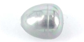 Shell Based Pearl Teardrop 12x14mm Grey PAIR-shell based pearls-Beadthemup