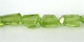 Peridot small Faceted Nugget beads per strand 50-55 Beads-peridot-Beadthemup