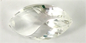 Clear Quartz 22x38mm Faceted Marquise t/drl Bead-clear quartz-Beadthemup