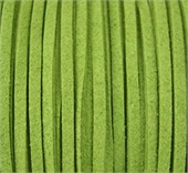Faux Suede 3mm Green per M-suede and faux suede-Beadthemup