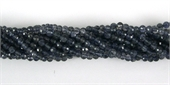 Iolite 4mm Faceted Round beads per strand 80-iolite-Beadthemup