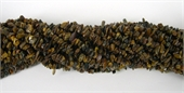 Tigereye Chip 60cm strand-tiger eye-Beadthemup