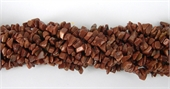 Red Goldstone Chip 90cm strand-gemstone beads-Beadthemup
