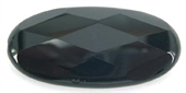 Onyx Faceted Flat Oval 25x50mm bead-onyx-Beadthemup