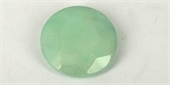 Dyed Jade Mint 40mm Faceted Flat Rd Bead-jade-Beadthemup