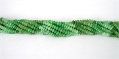 Chrysophase Faceted Rondel 6x4mm beads per strand 105Bead-chrysophase-Beadthemup