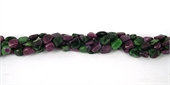 Ruby Zoisite Polished Nugget approx 10mm/38Bead-ruby zoisite-Beadthemup