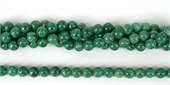 Chrysocolla Polished Round 8mm beads per strand 50 Beads-beads incl pearls-Beadthemup
