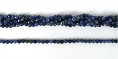 Sodalite Faceted Round 4mm beads per strand 92Beads-gemstone beads-Beadthemup
