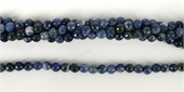 Sodalite Faceted Round 6mm beads per strand 62Beads-gemstone beads-Beadthemup