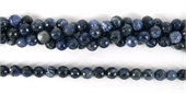 Sodalite Faceted Round 8mm beads per strand 48Beads-gemstone beads-Beadthemup
