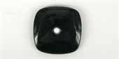 Black Obsidian Square Donuts 50mm 8mm ho-obsidian-Beadthemup