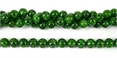 Chrome Diopside Polished Round 9mm beads per strand 44Beads-chrome diopside-Beadthemup