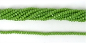Chinese Crystal 4x3mm 140 beads JADE-chinese crystal-Beadthemup