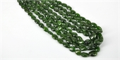 Chrome Diopside Polished Nugget Graduated-chrome diopside-Beadthemup