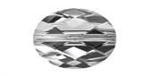 Swarovski 5050 Oval Cmet Arget 22x16mm 1 pack-beads-Beadthemup
