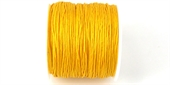 Poly Cord 1mm 50m roll Yellow-poly cord-Beadthemup