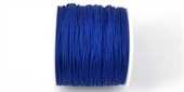 Poly Cord 1mm 50m roll Royal Blue-poly cord-Beadthemup
