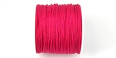 Poly Cord 1mm 50m roll Hot Pink-poly cord-Beadthemup