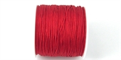 Poly Cord 1mm 50m roll Pink Red-poly cord-Beadthemup