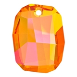 Swarovski 6685 28mm Crystal Astrandal Pink 1 pack-graphic 6685 pendants-Beadthemup