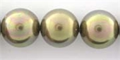 Shell Based Pearl 14mm Taupe Dark each-shell based pearls-Beadthemup