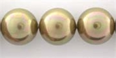 Shell Based Pearl 14mm Taupe Light each-shell based pearls-Beadthemup