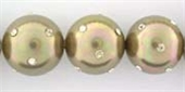 Shell Based Pearl 14mm Diamonte Taupe LT-shell based pearls-Beadthemup