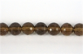 Whisky Quartz Faceted Round 10mm BEAD-quartz whisky champagne beer and honey-Beadthemup