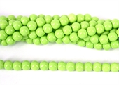 Jade Dyed Polished Round 8mm LT GREEN beads per strand 47b-jade-Beadthemup