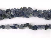 Iolite Rough Nuggets 8x5mm beads per strand 49Beads-iolite-Beadthemup