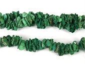Chrysocolla Rough Chips 15-18mm strand-chrysocolla-Beadthemup