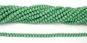 Chinese Crystal 4x3mm 140 beads SeaGreen-chinese crystal-Beadthemup