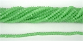 Chinese Crystal 4x3mm 140 beads Mint-chinese crystal-Beadthemup