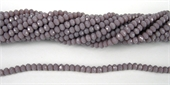 Chinese Crystal 4x3mm 140 beads Mauve-chinese crystal-Beadthemup