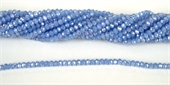 Chinese Crystal 4x3mm 140 beads Baby Blue AB-chinese crystal-Beadthemup