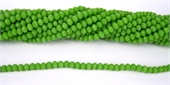 Chinese Crystal 4x3mm 140 beads Lime-chinese crystal-Beadthemup