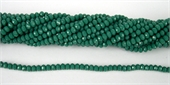 Chinese Crystal 4x3mm 140 beads Emerald-chinese crystal-Beadthemup